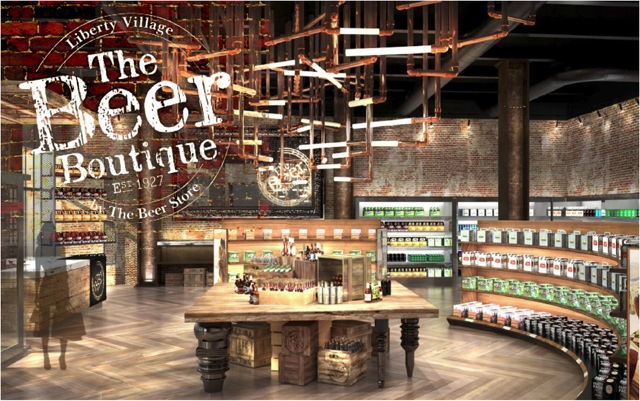 Beer store to launch first beer boutique in liberty village for Craft beer online shop