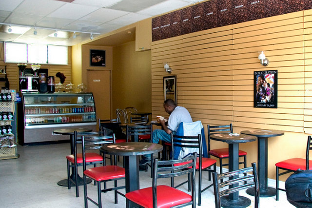 Cafe Coffee Day Interior