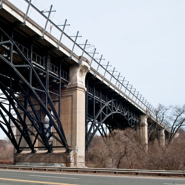 The Bloor Street Viaduct. If it's possible for a Toronto bridge to suffer