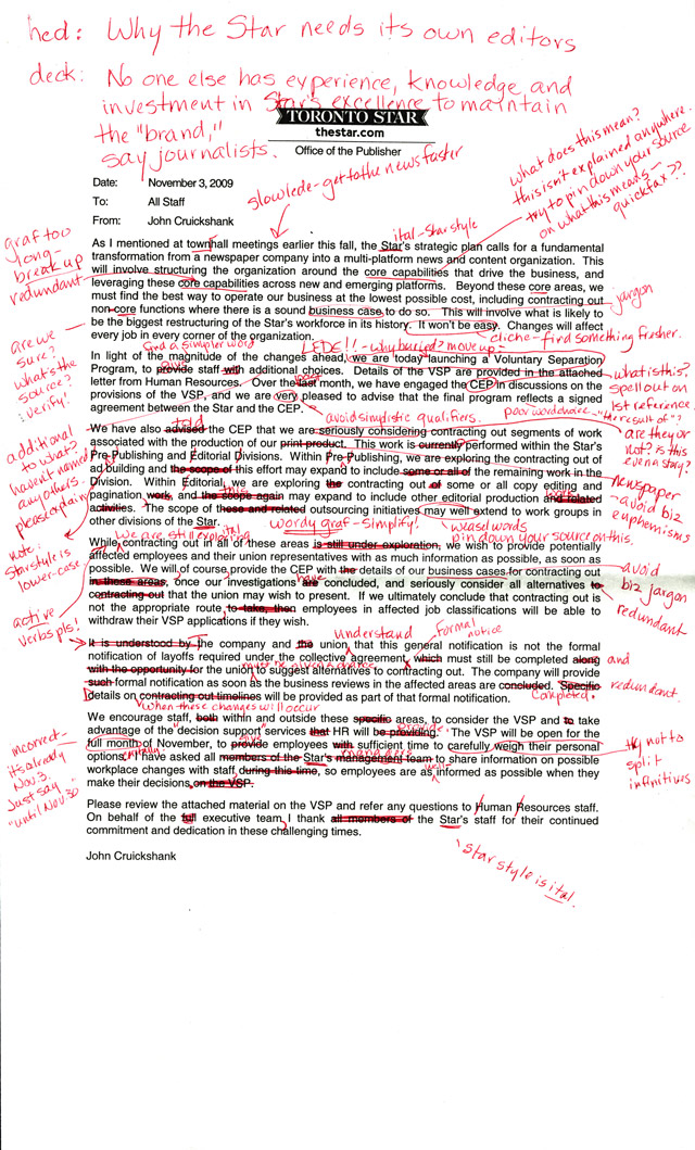 proof marks lrb blog  of the publisher s letter to torontoist com marked up in red ink dozens of corrections point made click on the image to see the whole thing
