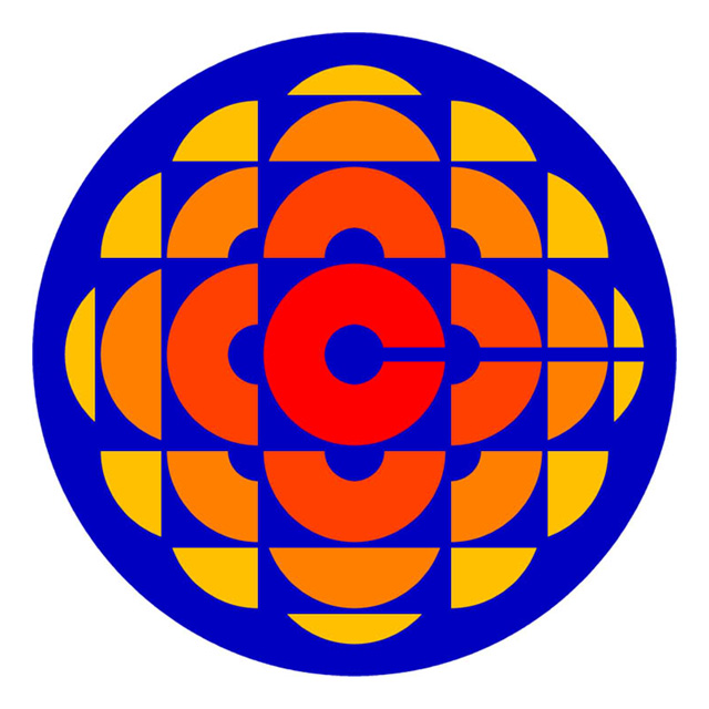 CBC's logo from 1974 to 1986