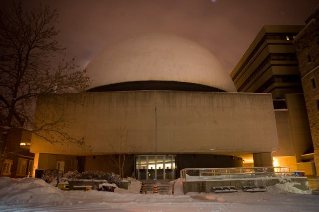 The McLaughlin Planetarium