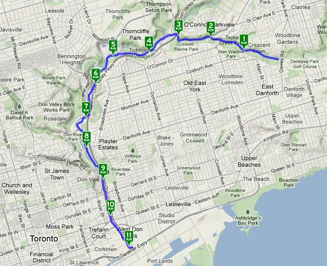 Cycling Secrets of the Don Valley