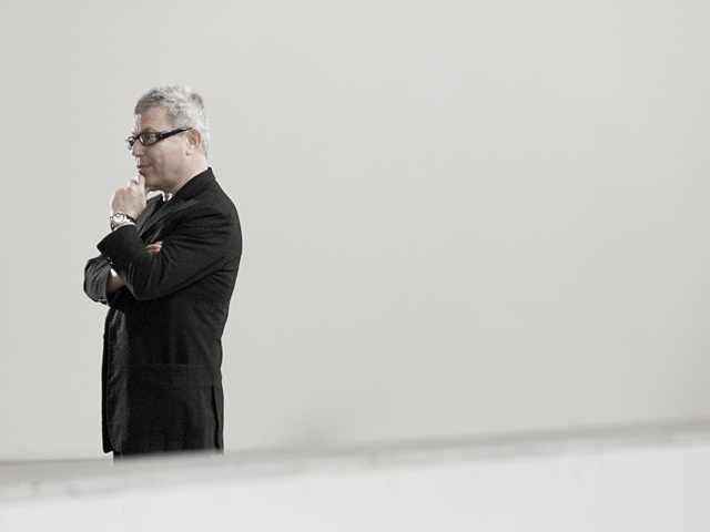 Architect Daniel Libeskind (Photo by Marc Lostracco)