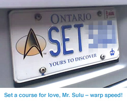 Licence plate image