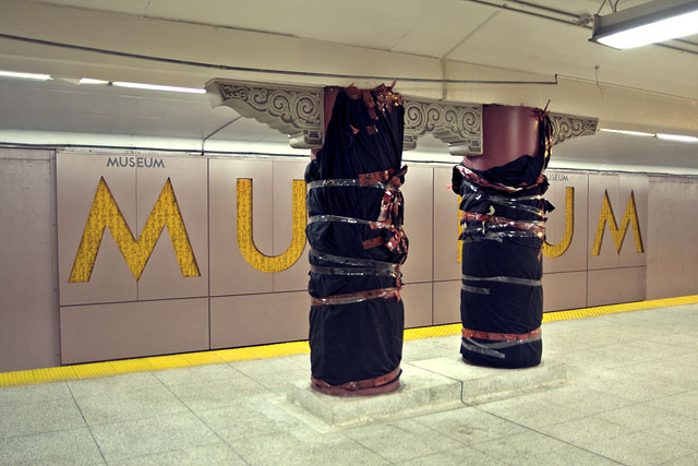 Museum Station by Miles Storey