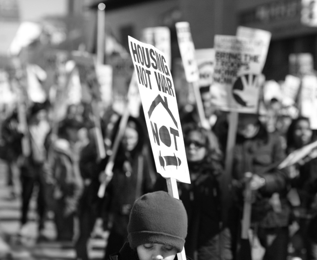 Antiwar Protest by Miles Storey