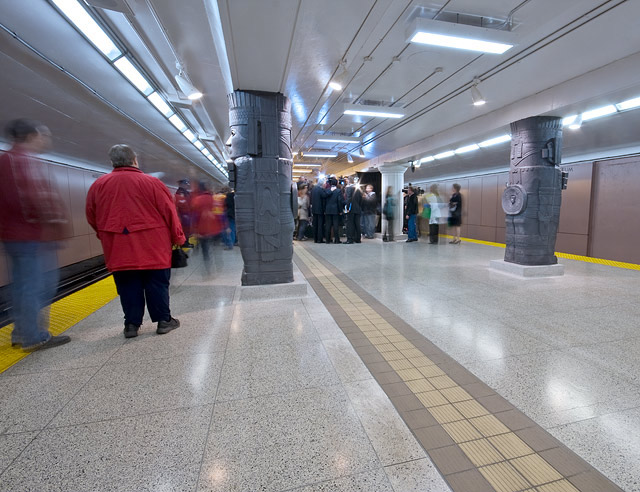 Museum Station Unveiled by Miles Storey