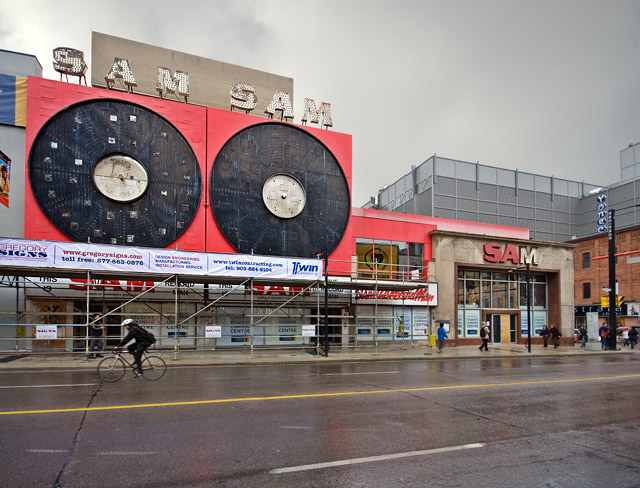Sam the Record Man, Photo by Miles Storey
