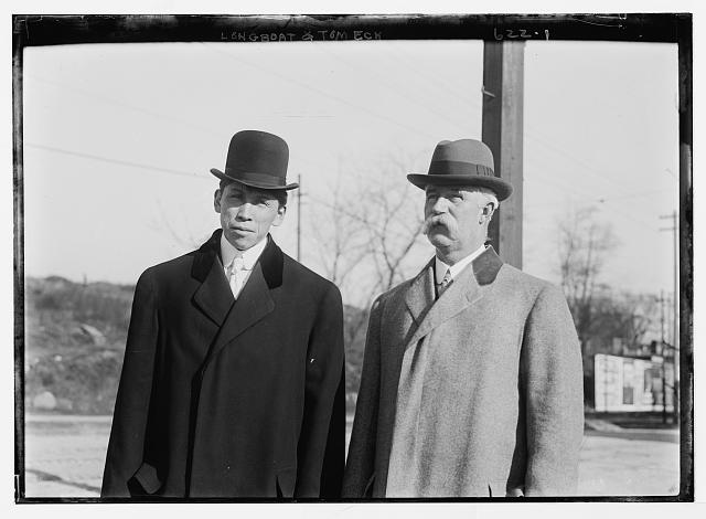 Tom Eck and Longboat, no date  Library of Congress (LC B2  622 1 [P&P])