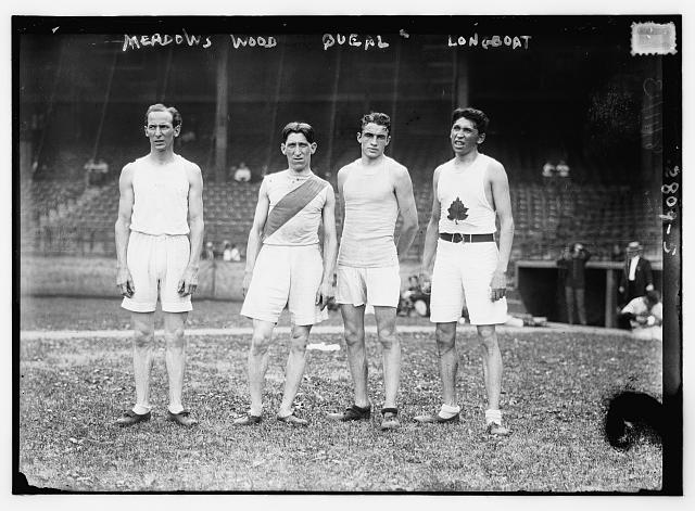 Runners with Longboat on the far right, ca  1910–1915  Library of Congress (LC B2  2809 5 [P&P])