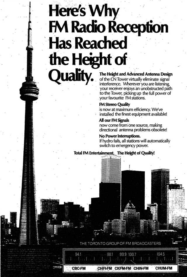 Advertisement, the Toronto Star, June 5, 1976.