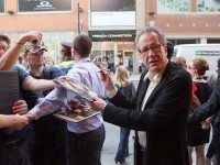 Geoffrey Rush at the premiere of Eye of the Storm on Sunday night.