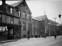 St. Paul Catholic School, No. 409 Queen Street East at Power Street, January 24, 1919.  City of Toronto Archives, Fonds 1231, Item 1017.