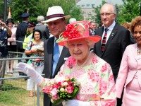 "The Queen on her visit to Canada in 2010. Photo by {a href=""http://www.flickr.com/photos/nosam/4769224851/""}peter j mason{/a} from the {a href=""http://www.flickr.com/groups/torontoist""}Torontoist Flickr Pool{/a}."
