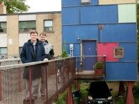 Darren Berberick (left) and Benjamin Walsh (right) are moving out of their four-storey home.