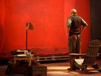 Mark Rothko seeing red. Photo by Bruce Zinger.