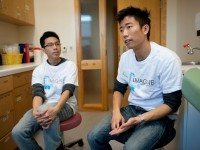 Enoch Ng (left) and Yick Kan Cheung, co-directors of the IMAGINE clinic.