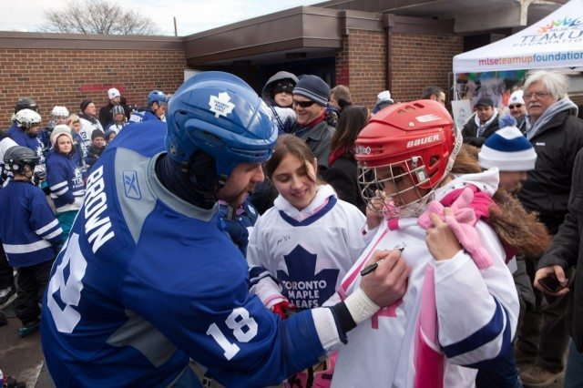 Toronto Maple Leafs Outdoor Practice