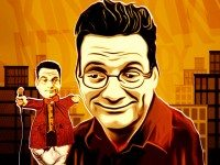 Stand-up wit Andy Kindler pulls his own strings (and maybe some of his audiences) all this weekend at Comedy Bar.  Image by Kurt Firla.