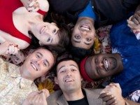 A Really Bad Play performers Jessie Gabe, Shawn Ahmed, Ryan Allen, Trevor Small and Daniel Stolfi. Photo courtesy of...