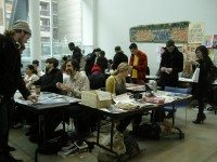 Zines, zines, everywhere at the 4th Annual Ocad U Zine Fair! Photo courtesy of Marta Chudolinska.