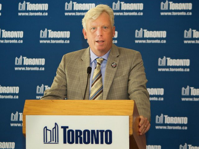 David Miller, 2010. Photo by Christopher Drost/Torontoist.
