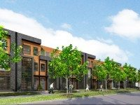 Perth Street townhome rendering courtesy of Castlepoint