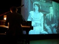 Composer Robert Smith provides live musical accompaniment to three Buster Keaton shorts screening tonight at Trinity St. Paul's. Photo by Nancy Winlove-Smith.