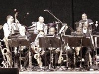 Jazz at Lincoln Center Orchestra, on stage at Massey Hall Thursday night.