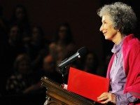 "Margaret Atwood will speak tonight at the Irving Layton Centenary Celebration. Photo by {a href=""http://www.flickr.com/photos/rh89/3213495889/in/pool-89872566@N00/""}rh89{/a} from the {a href=""http://www.flickr.com/groups/torontoist""}Torontoist Flickr Pool{/a}."