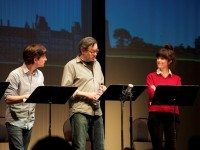 A staged reading of Proud earlier this year. Photo by Amanda Lynne Ballard.