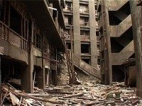 Still from Hashima, Japan 2002. Courtesy of Carl Michael von Hausswolff and Thomas Nordanstad.