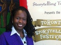 Debra Baptiste is executive director of the Toronto Storytelling Festival. Photo by Dinny Biggs.