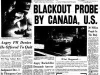 Front page, the Telegram, November 10, 1965.