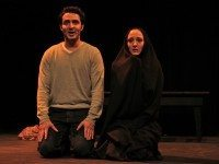 Razi Shawadeh and Bahareh Yaraghi resurrect Marina Nemat's loveless marriage in Prisoner of Tehran. Photo by Victoria Scholes.