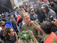 Hash Mob in Downtown Toronto - Celebrating 4:20