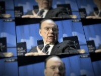 In the dock and in the doc: News Corp. CEO Rupert Murdoch