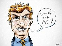 But dance for Nigel Lythgoe only one day per week, now.