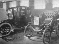 Believed to be the first automobile in Toronto, photographed circa 1912.  City of Toronto Archives, Fonds 1244, Item 56.