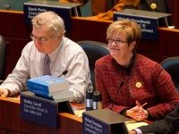Mike Del Grande (left) is Rob Ford's budget chief. Shelley Carroll (right) was David Miller's. Oh, what a difference a year and half makes.
