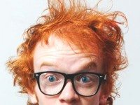 Everybody's favourite ginger returns for a one-night performance of Redheaded Stepchild. Photo courtesy of Johnnie Walker.