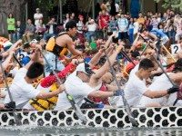 Last year's Dragon Boat Race Festival.