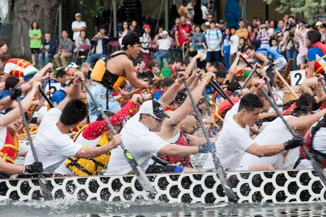A pic from the 2011 Dragon Boat Race Festival. Photo by Dean Bradley/Torontoist.
