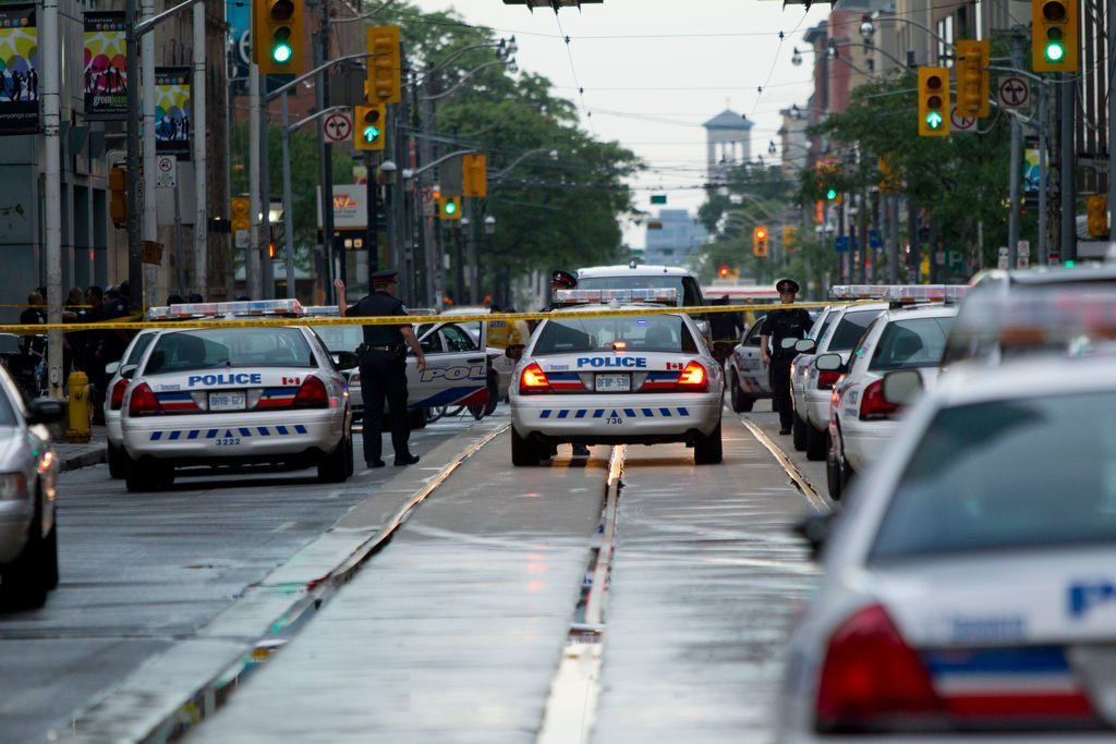 One Dead, Seven Injured After Shooting at Toronto Shopping Mall.