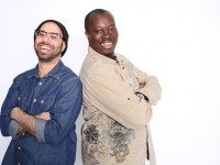 Comics Dave Merheje (Left) and Arthur Simeon co-headline at the St. Lawrence Centre tonight.  Photo by Zaiden.