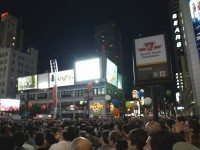 Outdoor shows start at Yonge-Dundas today. Come join the sea of humanity. Photo by Loni Schick/Torontoist