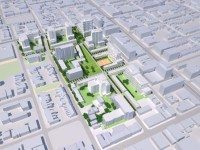 Proposed rebuild of Alexandra Park. Image courtesy of Toronto Community Housing.