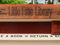 Toronto's first Little Free Library.