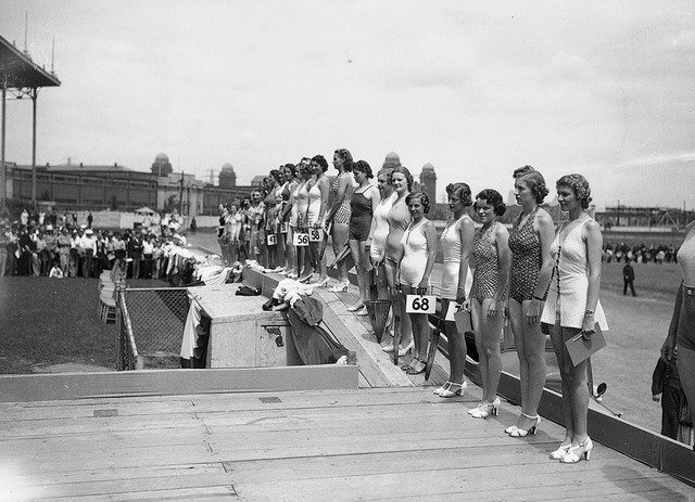 Miss Toronto Beauty Pageant, c. 1937, City of Toronto Archives, Fonds 1257, Series 1057, Item 1437.